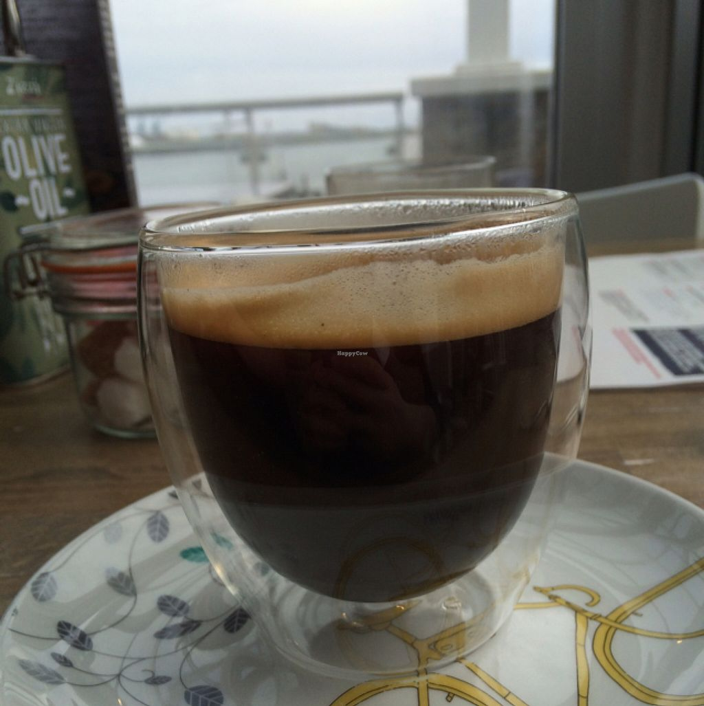 """Photo of Zizzi - Cardiff Bay  by <a href=""""/members/profile/DollyWiggles"""">DollyWiggles</a> <br/>lovely coffee and lovely view <br/> May 9, 2016  - <a href='/contact/abuse/image/73053/148264'>Report</a>"""