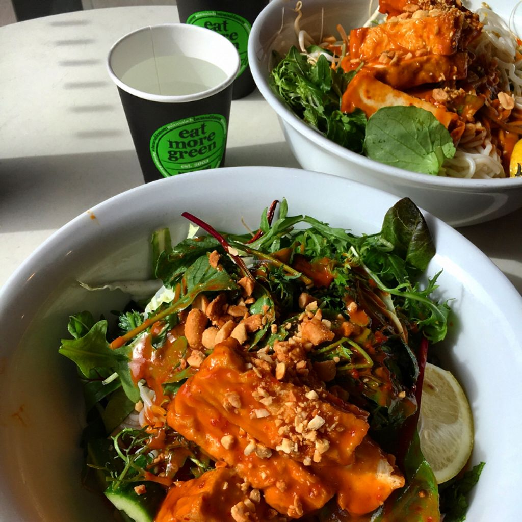 """Photo of Banana Blossom  by <a href=""""/members/profile/SeitanSeitanSeitan"""">SeitanSeitanSeitan</a> <br/>Vegan chili tofu salad.  <br/> May 1, 2016  - <a href='/contact/abuse/image/73059/147037'>Report</a>"""