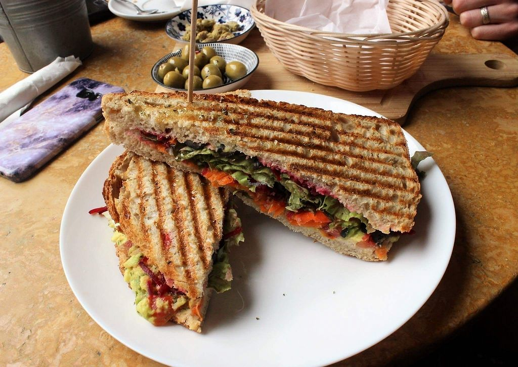 """Photo of Saudade  by <a href=""""/members/profile/Veganchick11"""">Veganchick11</a> <br/>Vegan Panini <br/> July 16, 2017  - <a href='/contact/abuse/image/73103/280854'>Report</a>"""