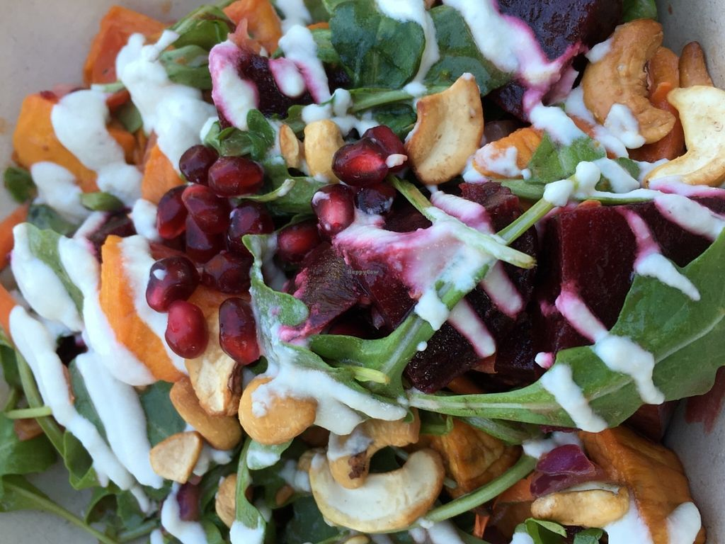 """Photo of Shouk  by <a href=""""/members/profile/cookiem"""">cookiem</a> <br/>Beet salad <br/> June 21, 2016  - <a href='/contact/abuse/image/73108/155353'>Report</a>"""