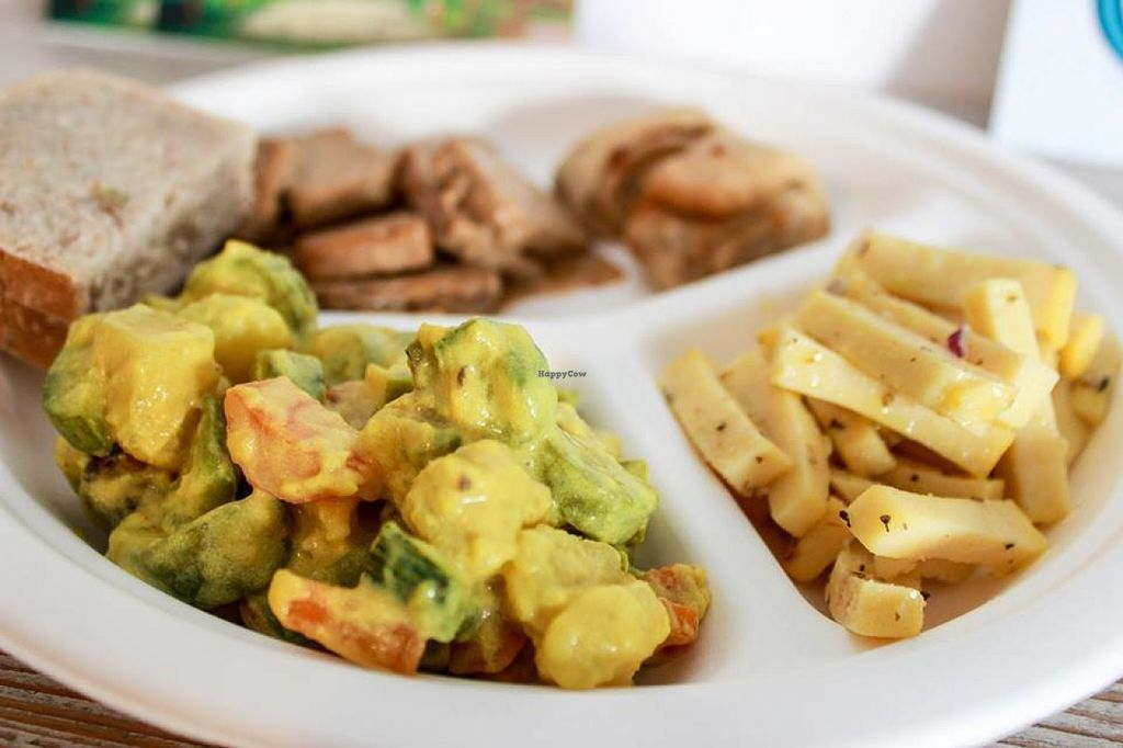 """Photo of CLOSED: Testa di Rapa  by <a href=""""/members/profile/SueClesh"""">SueClesh</a> <br/>curry, tempeh and chickpea cheese <br/> July 21, 2016  - <a href='/contact/abuse/image/73141/161417'>Report</a>"""