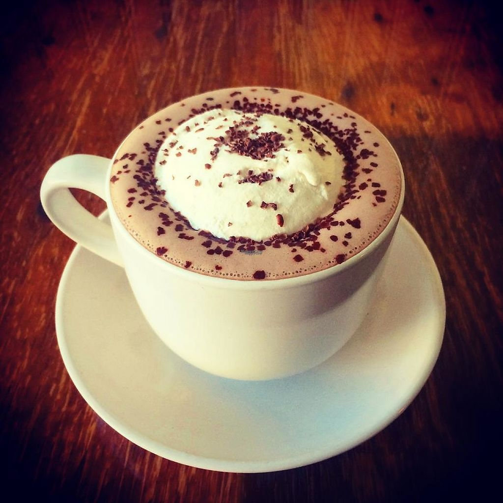 """Photo of Proper Pie Co.  by <a href=""""/members/profile/community"""">community</a> <br/>Hot Chocolate <br/> March 21, 2017  - <a href='/contact/abuse/image/73158/239041'>Report</a>"""