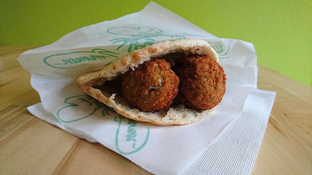 """Photo of Hashtag Falafel  by <a href=""""/members/profile/HashtagFalafel"""">HashtagFalafel</a> <br/>Falafel from #Falafel Gent  <br/> May 5, 2016  - <a href='/contact/abuse/image/73160/147561'>Report</a>"""