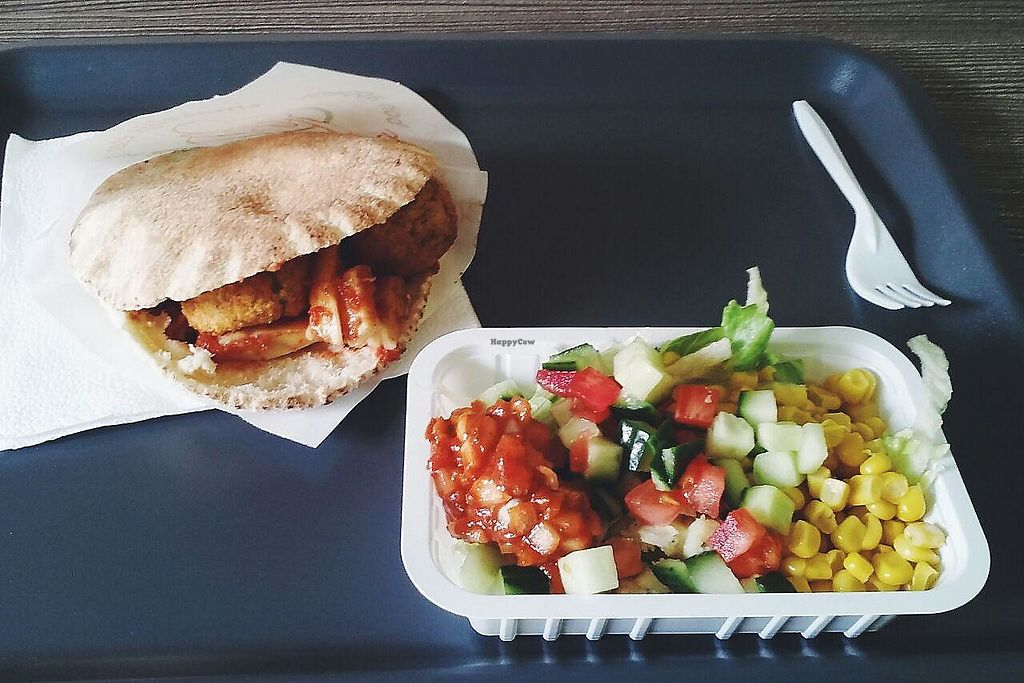 """Photo of Hashtag Falafel  by <a href=""""/members/profile/unmond"""">unmond</a> <br/>Nuba Falafel <br/> August 5, 2017  - <a href='/contact/abuse/image/73160/289232'>Report</a>"""
