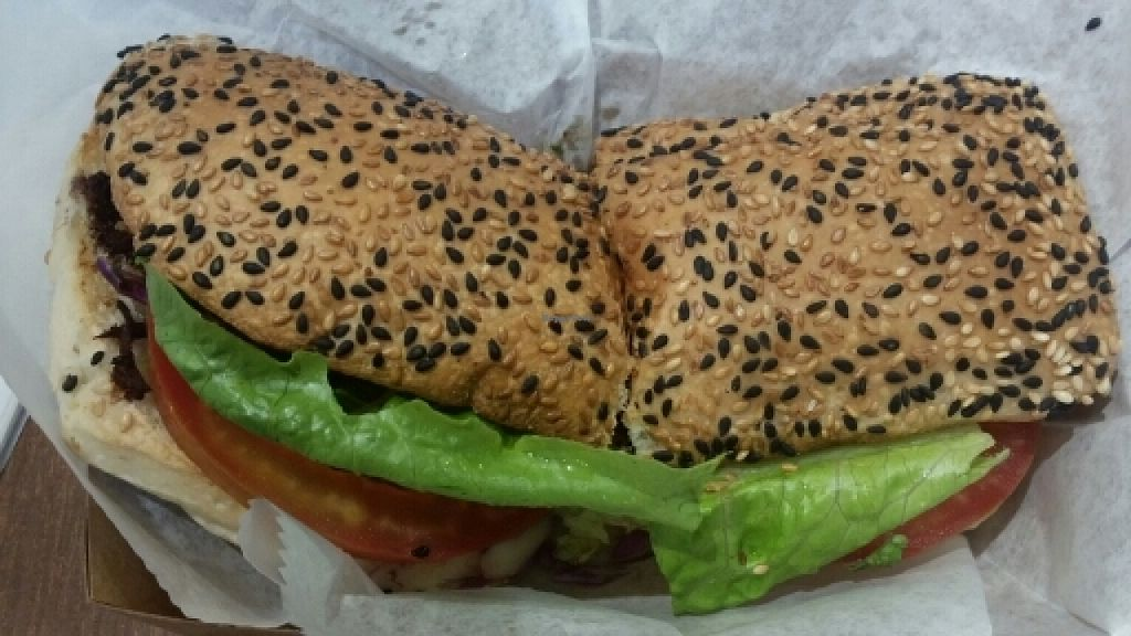 "Photo of Chef Icon Nature Bakery - Kampong Bahru Rd  by <a href=""/members/profile/JimmySeah"">JimmySeah</a> <br/>Yakiniku Mushroom sandwich <br/> May 19, 2016  - <a href='/contact/abuse/image/73166/149810'>Report</a>"