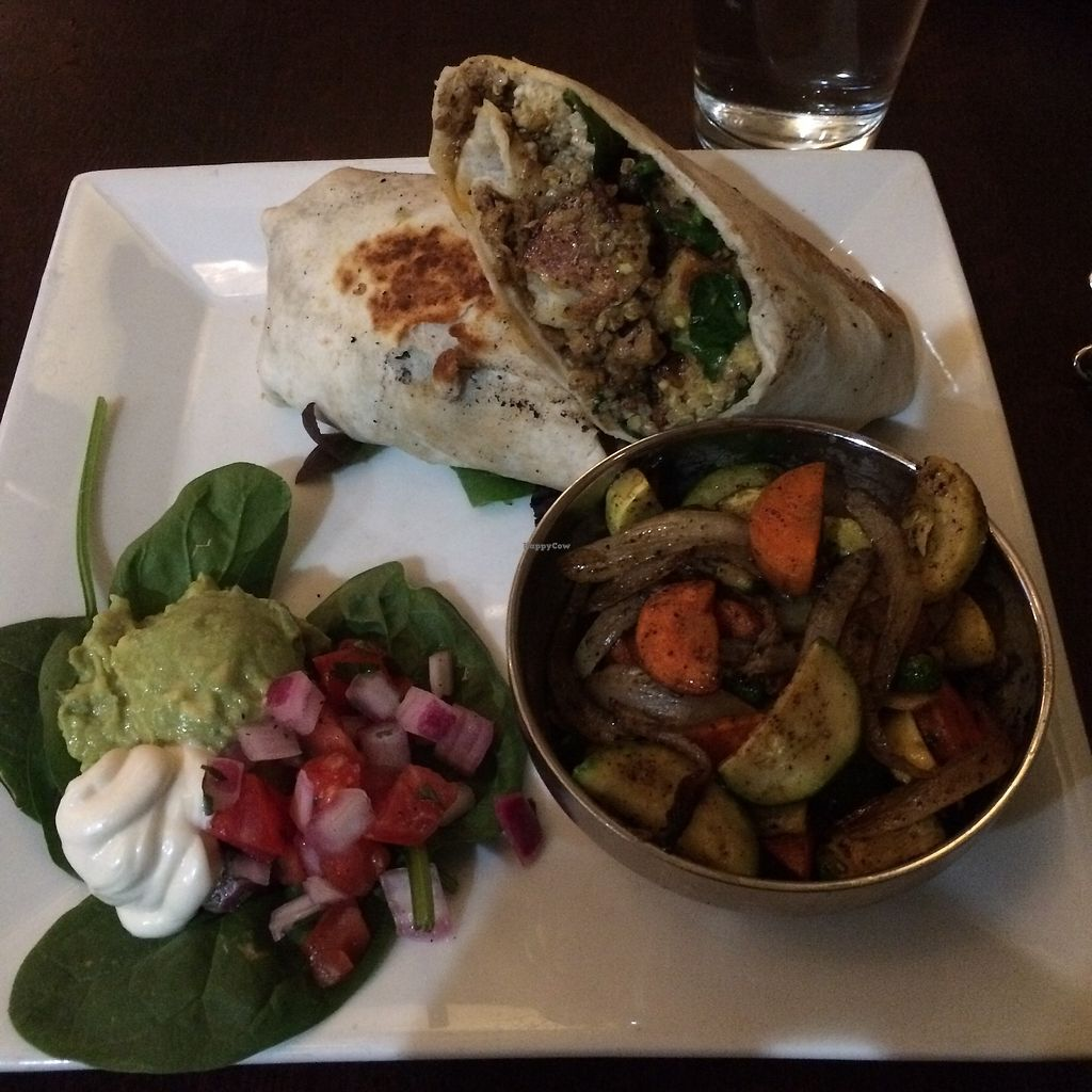 """Photo of Graze  by <a href=""""/members/profile/KatieBush"""">KatieBush</a> <br/>tempeh wrap with veggies <br/> July 15, 2017  - <a href='/contact/abuse/image/73189/280732'>Report</a>"""