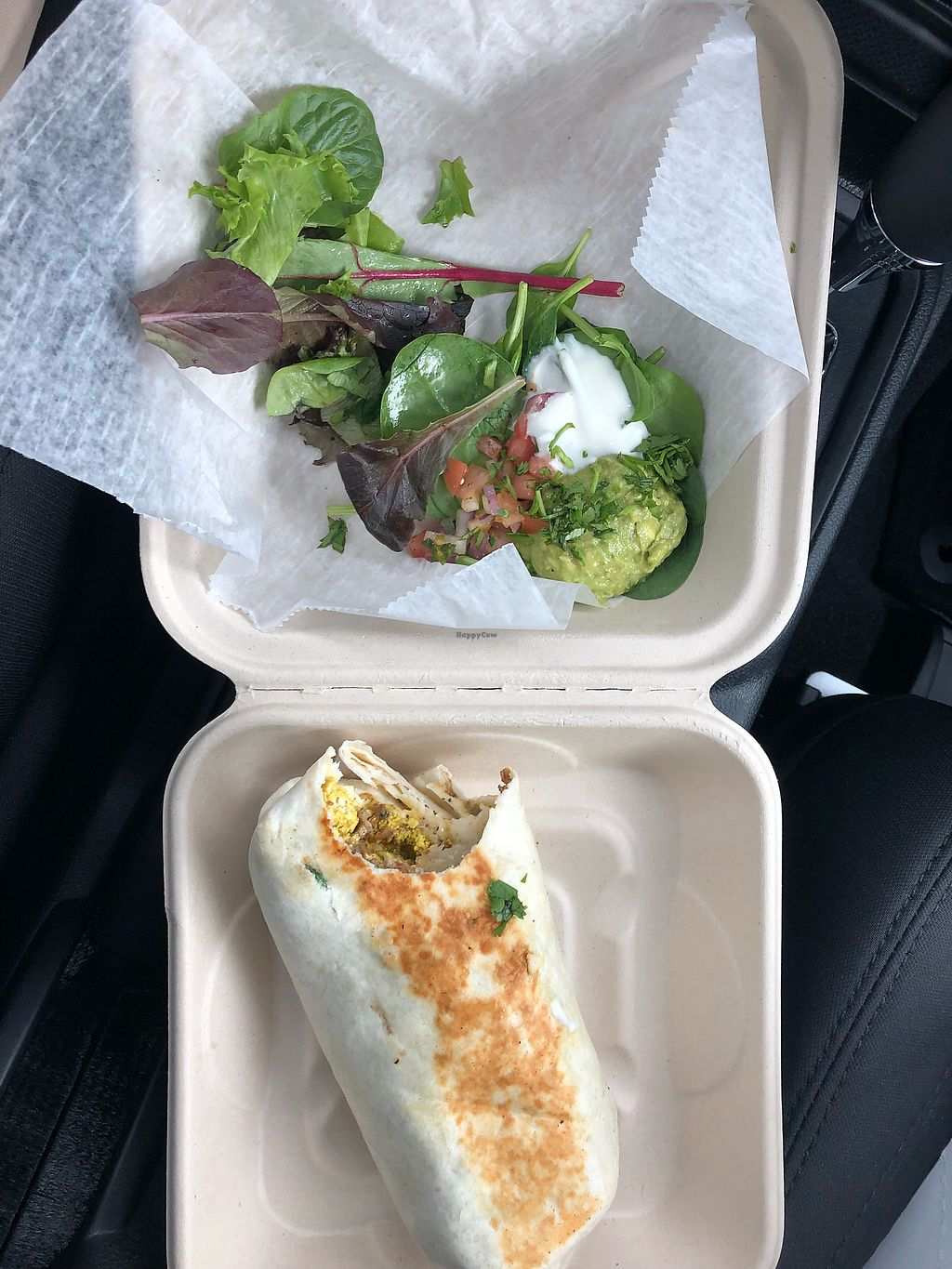 """Photo of Graze  by <a href=""""/members/profile/Awake1234"""">Awake1234</a> <br/>Take Out - Breakfast burrito  <br/> April 15, 2018  - <a href='/contact/abuse/image/73189/386398'>Report</a>"""