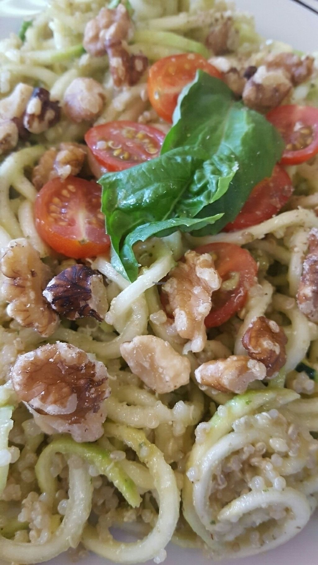 "Photo of Coconut Hut  by <a href=""/members/profile/missmaryxjane"">missmaryxjane</a> <br/>Zucchini Pasta with Walnut Pesto <br/> March 8, 2017  - <a href='/contact/abuse/image/73194/234076'>Report</a>"