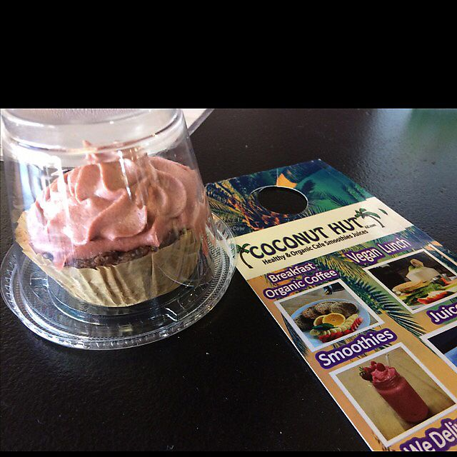 "Photo of Coconut Hut  by <a href=""/members/profile/BabyDee78"">BabyDee78</a> <br/>My vegan cupcake  <br/> June 9, 2017  - <a href='/contact/abuse/image/73194/267160'>Report</a>"
