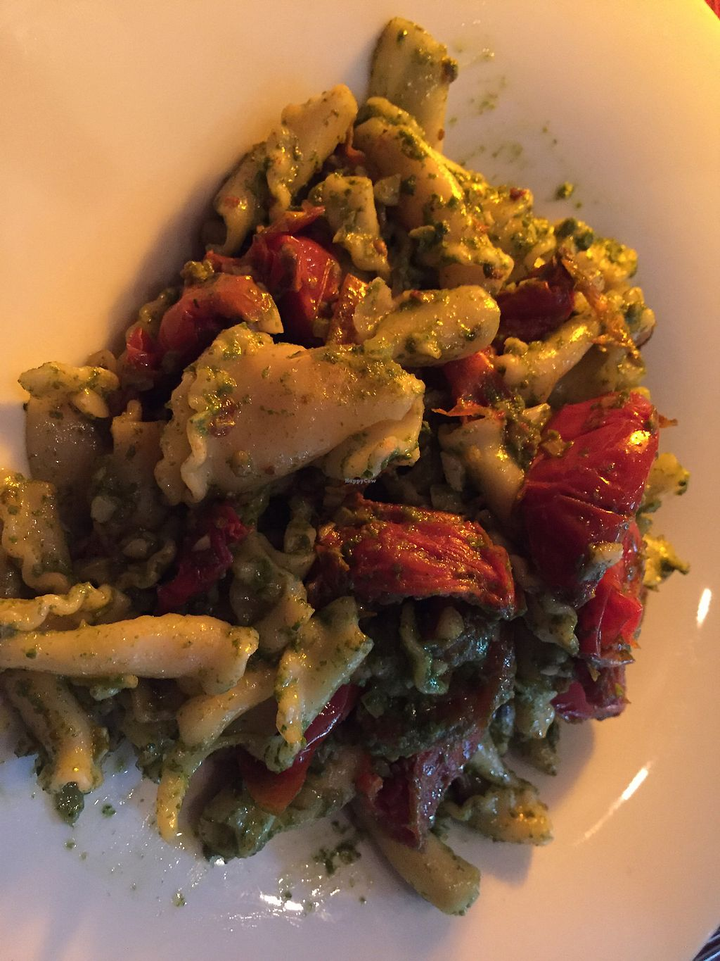 """Photo of Arad Evans Inn  by <a href=""""/members/profile/SandraHal"""">SandraHal</a> <br/>vegan pesto pasta dish from vegan menu  <br/> August 22, 2017  - <a href='/contact/abuse/image/73201/295724'>Report</a>"""