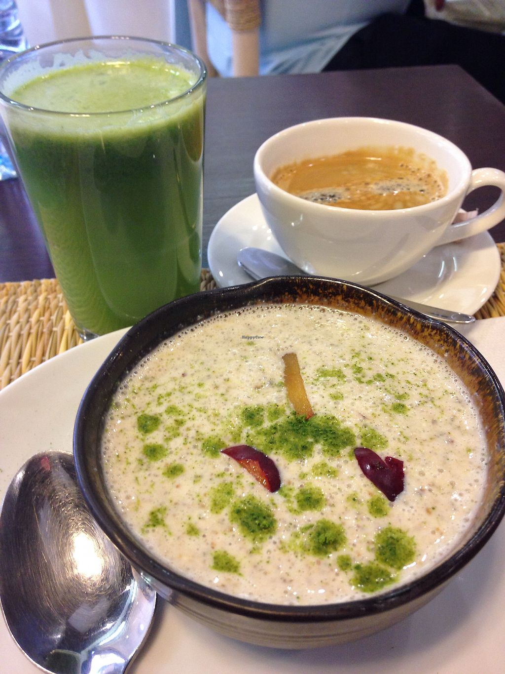 """Photo of Ayaso Concept Store Cafe  by <a href=""""/members/profile/Lemanieg"""">Lemanieg</a> <br/>The Booster breakfast option and green juice  <br/> October 6, 2017  - <a href='/contact/abuse/image/73233/312331'>Report</a>"""