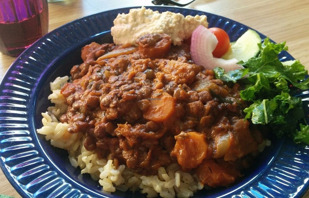 """Photo of CLOSED: Kafe Kulor  by <a href=""""/members/profile/Aladoran"""">Aladoran</a> <br/>Lentil curry, really delicious! <br/> July 21, 2016  - <a href='/contact/abuse/image/73241/161488'>Report</a>"""
