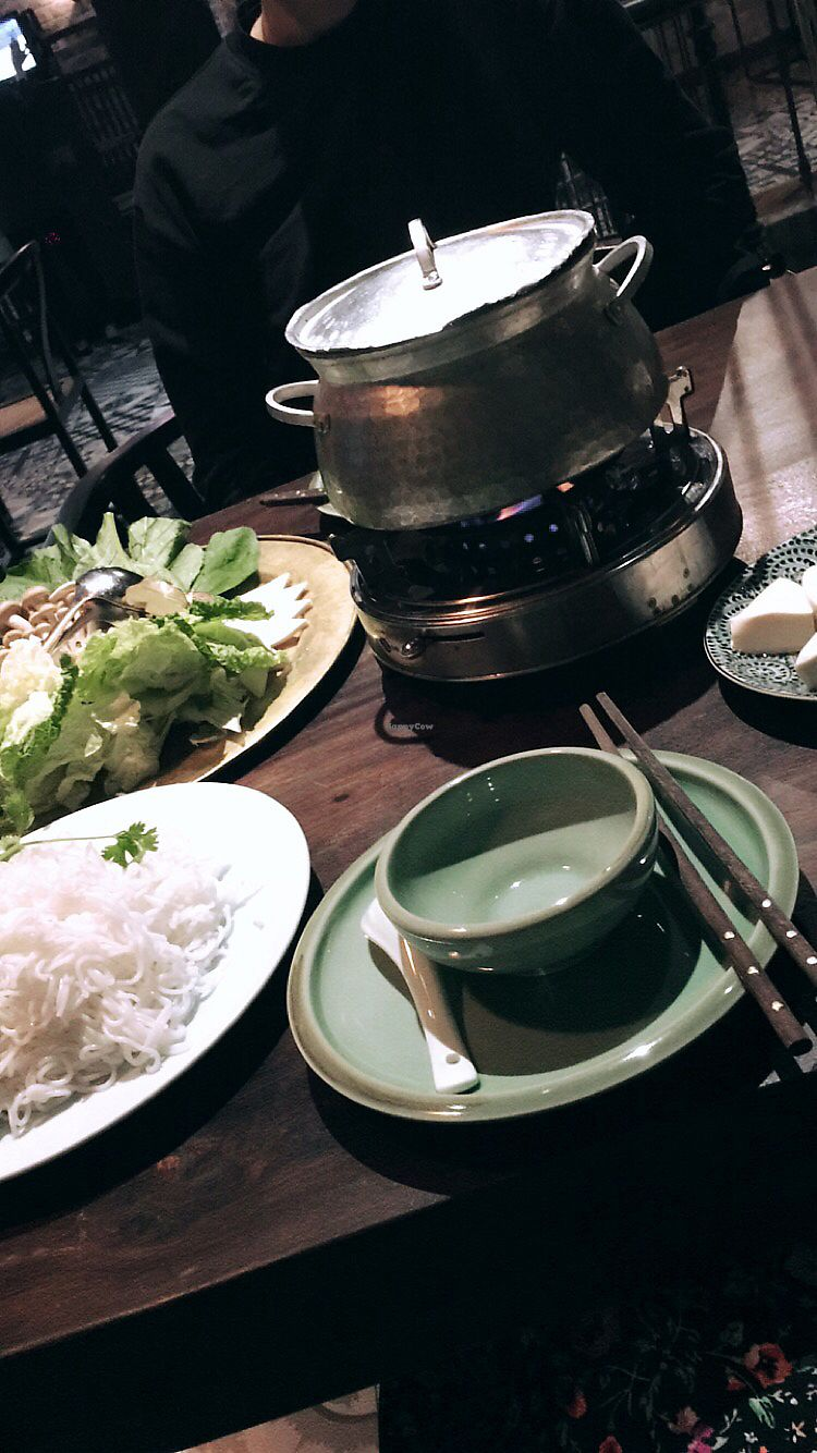 "Photo of Uu Dam Chay  by <a href=""/members/profile/marolino"">marolino</a> <br/>Spicy hot pot - vegan  <br/> November 30, 2017  - <a href='/contact/abuse/image/73265/330720'>Report</a>"