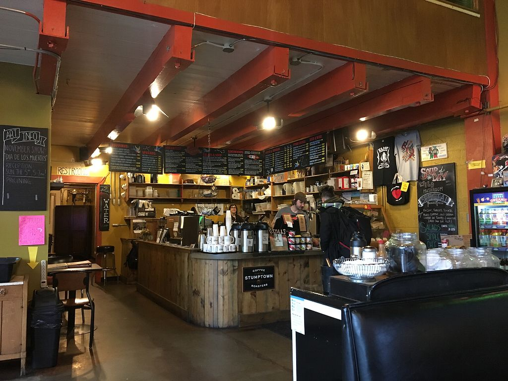 "Photo of Tiny's Coffee Northeast  by <a href=""/members/profile/BrionHurley"">BrionHurley</a> <br/>Staff taking care of customer <br/> December 2, 2017  - <a href='/contact/abuse/image/73274/331555'>Report</a>"