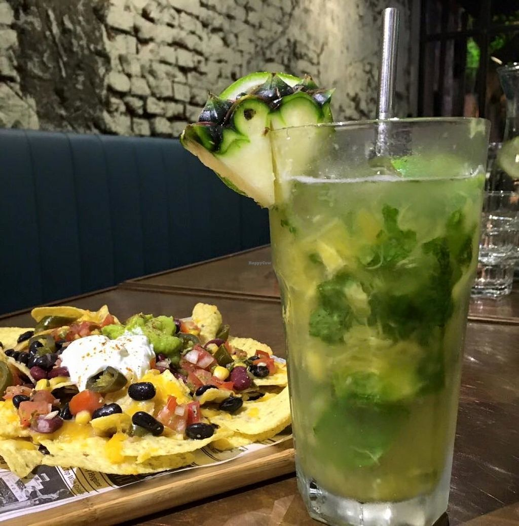"Photo of URBN Culture  by <a href=""/members/profile/ad_dupuis"">ad_dupuis</a> <br/>pineapple mojito and bean nachos  <br/> June 28, 2016  - <a href='/contact/abuse/image/73288/156568'>Report</a>"