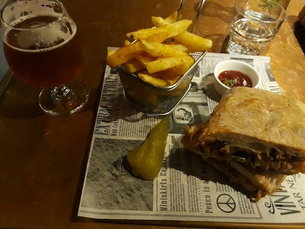 "Photo of URBN Culture  by <a href=""/members/profile/LilacHippy"">LilacHippy</a> <br/>Vegan pulled pork burger with fries <br/> April 4, 2017  - <a href='/contact/abuse/image/73288/244626'>Report</a>"