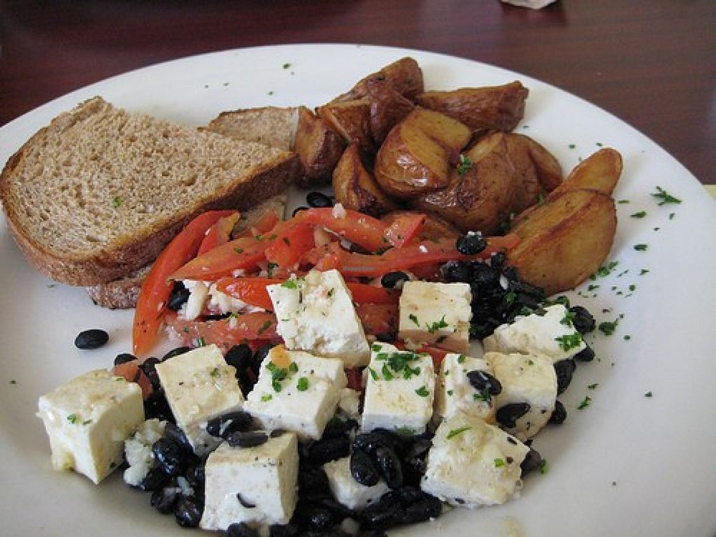 """Photo of Genies Cafe  by <a href=""""/members/profile/Arthousebill"""">Arthousebill</a> <br/>Tofu scramble <br/> May 9, 2016  - <a href='/contact/abuse/image/73293/148221'>Report</a>"""