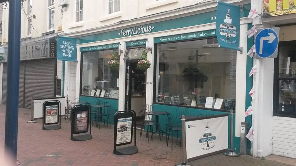 """Photo of PerryLicious Coffee and Cake Rooms  by <a href=""""/members/profile/kateyp1973"""">kateyp1973</a> <br/>We serve Origin coffee and Canton loose leaf tea, we have a choice of milk, including oat milk, soya milk & coconut milk, we serve smoothies which are dairy free, frappes and milkshakes & lots more! We also have a gluten free menu & a vegan menu <br/> May 5, 2016  - <a href='/contact/abuse/image/73298/147581'>Report</a>"""