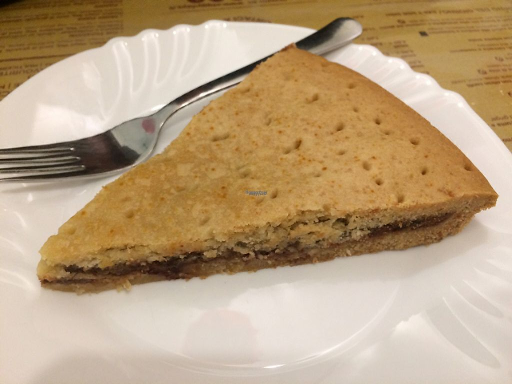 """Photo of Veggy Garden Bistrot  by <a href=""""/members/profile/FatTonyBMX"""">FatTonyBMX</a> <br/>Cookie torte thing with chocolate and pear. DELICIOUS <br/> February 15, 2017  - <a href='/contact/abuse/image/73303/226945'>Report</a>"""