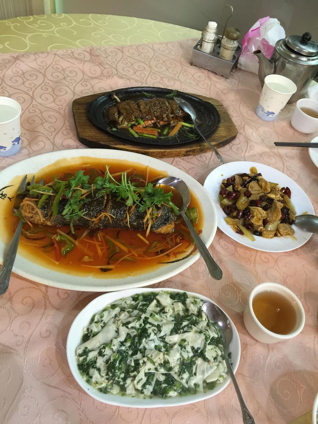 "Photo of Yi Yuan Vegetarian  by <a href=""/members/profile/Dantes"">Dantes</a> <br/>Some of the dishes <br/> May 9, 2016  - <a href='/contact/abuse/image/73327/148190'>Report</a>"