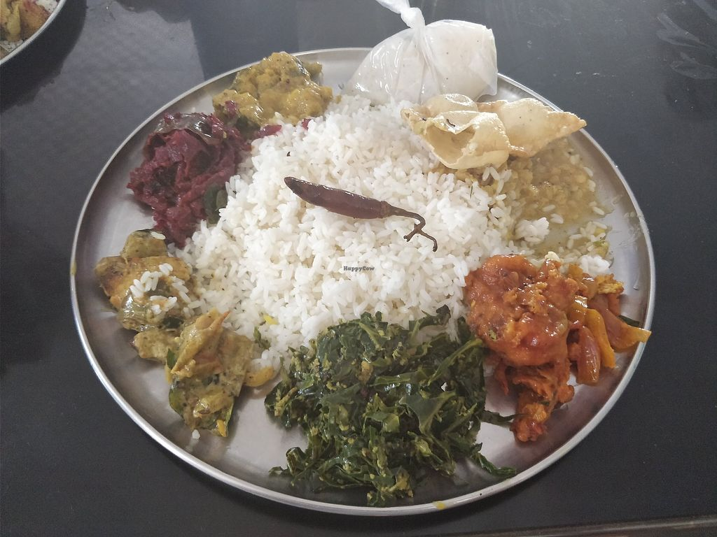 "Photo of Anna Pooram Vegetarian Restaurant   by <a href=""/members/profile/Libbytes"">Libbytes</a> <br/>Rice and Curry <br/> April 5, 2018  - <a href='/contact/abuse/image/73334/381079'>Report</a>"