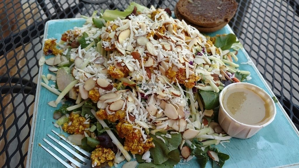 "Photo of Cafe Soleil  by <a href=""/members/profile/emmawin"">emmawin</a> <br/>tofu salad <br/> February 10, 2017  - <a href='/contact/abuse/image/73351/224979'>Report</a>"