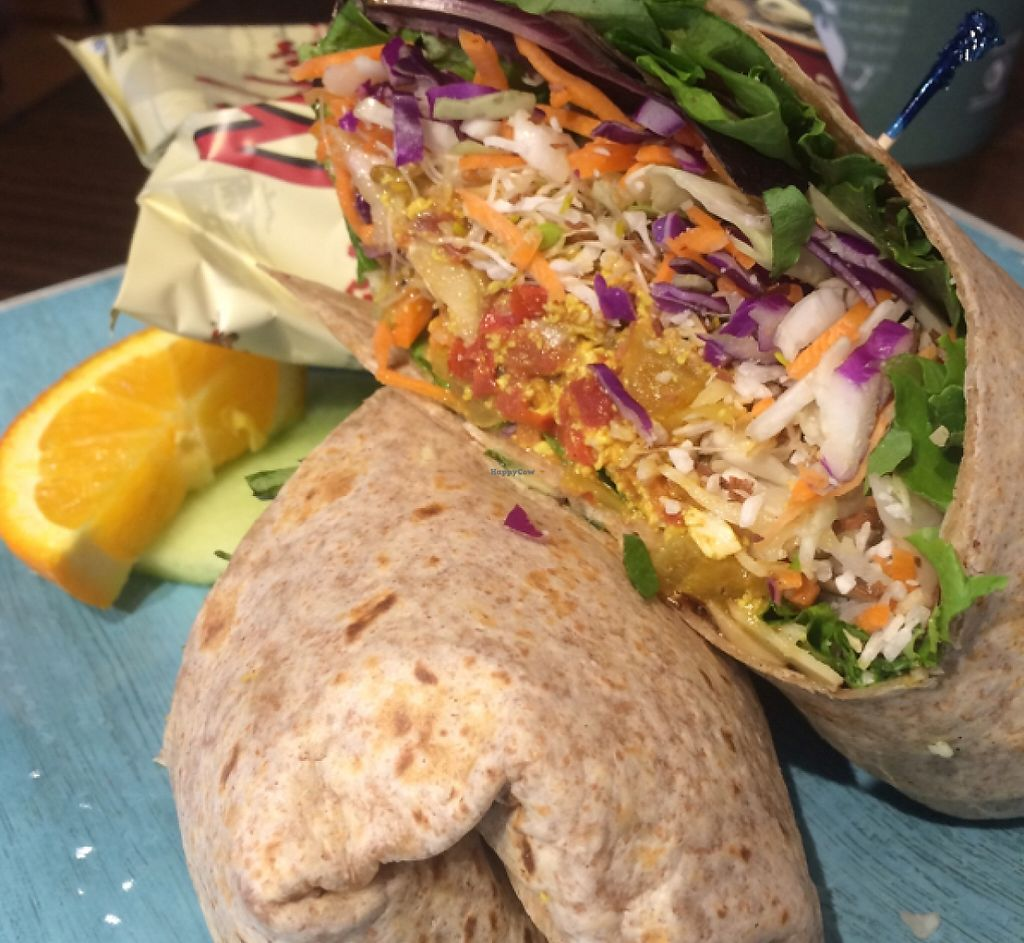 "Photo of Cafe Soleil  by <a href=""/members/profile/DNice88"">DNice88</a> <br/>Asian tofu wrap  <br/> May 10, 2016  - <a href='/contact/abuse/image/73351/231487'>Report</a>"
