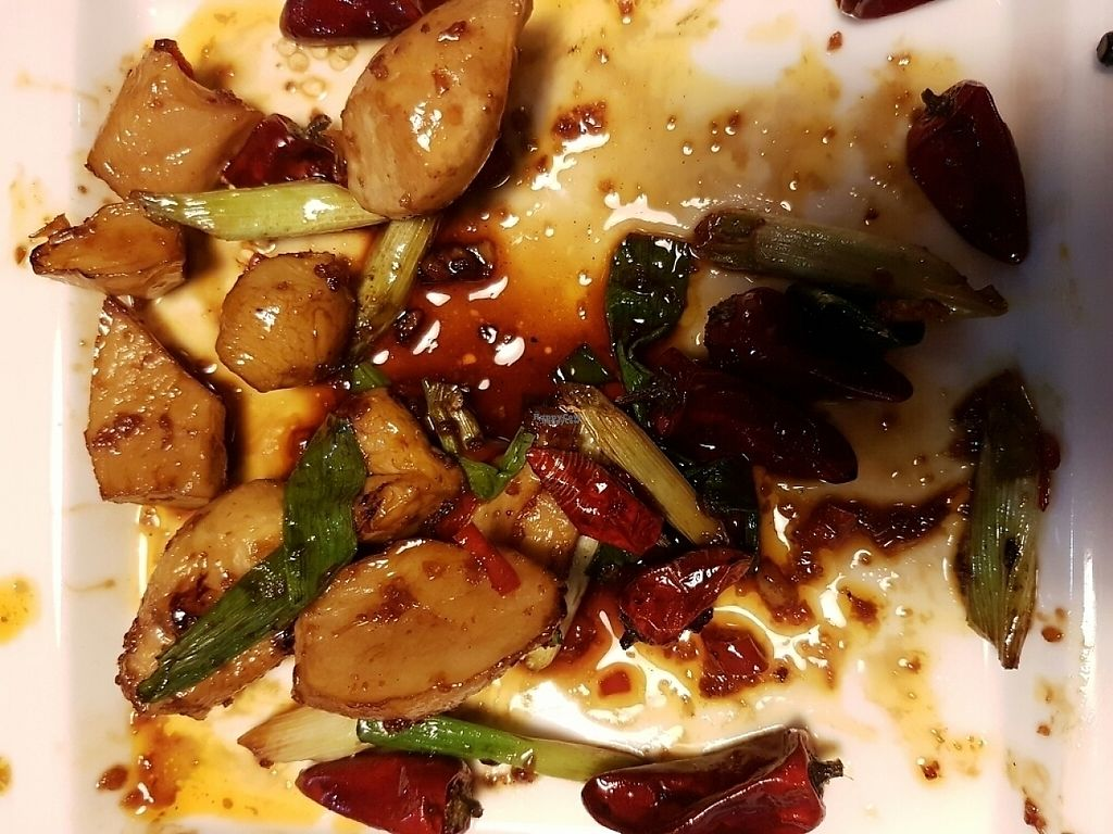 """Photo of iVegan Restaurant  by <a href=""""/members/profile/HelenSz"""">HelenSz</a> <br/>KongPao Mushrooms <br/> January 4, 2017  - <a href='/contact/abuse/image/73352/207969'>Report</a>"""
