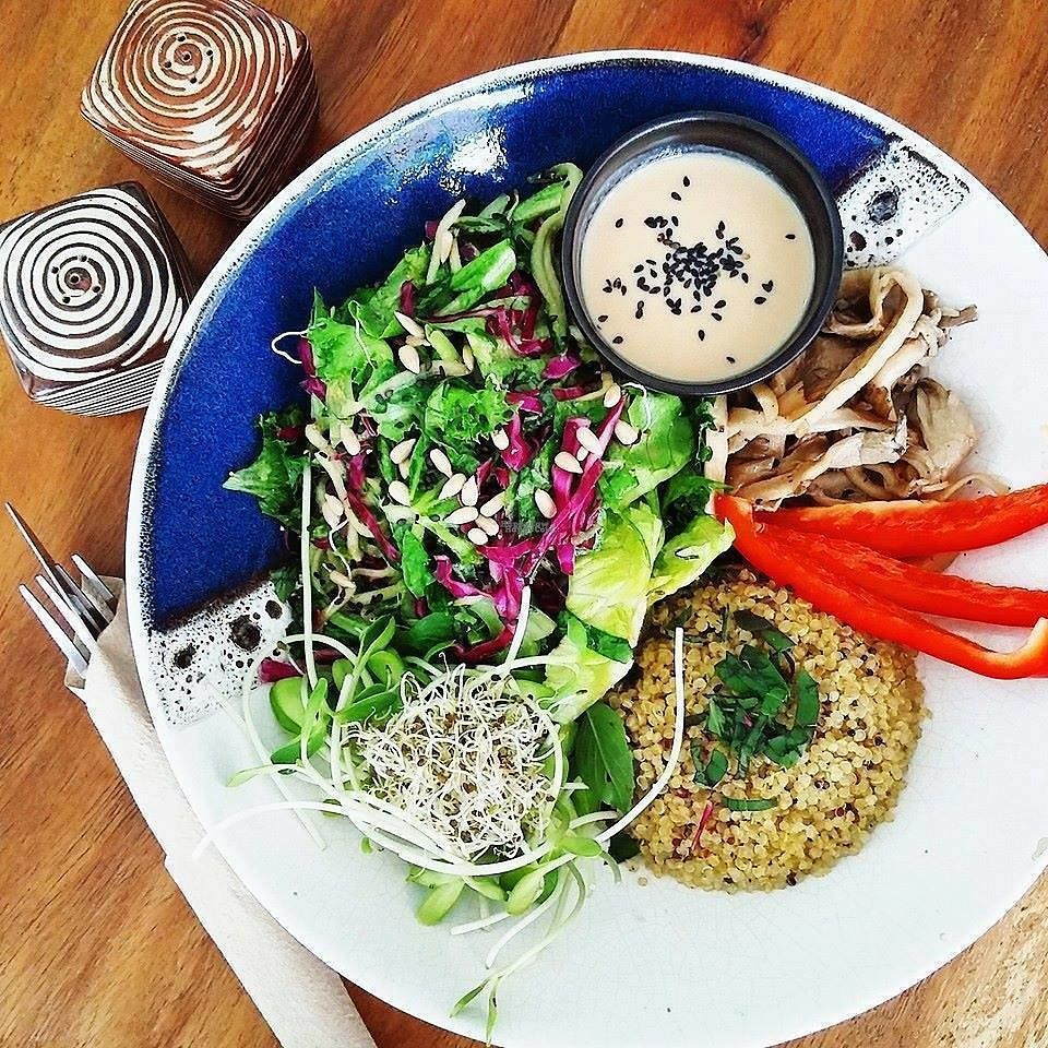 """Photo of Greenlight Cafe & Bar  by <a href=""""/members/profile/Greenlight%20Cafe"""">Greenlight Cafe</a> <br/>Nourish Bowl <br/> September 9, 2016  - <a href='/contact/abuse/image/73356/174521'>Report</a>"""