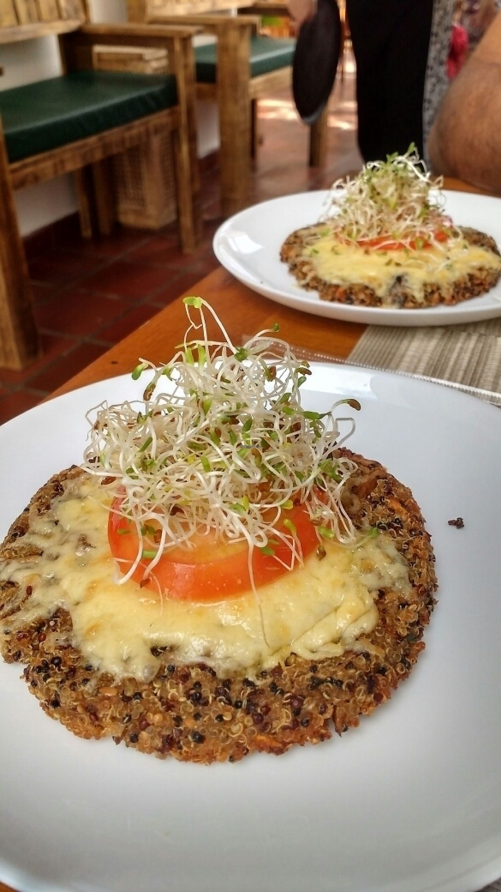 "Photo of Maluhia  by <a href=""/members/profile/silva_"">silva_</a> <br/>Quinoa and mushroom burger <br/> May 6, 2017  - <a href='/contact/abuse/image/73403/256349'>Report</a>"