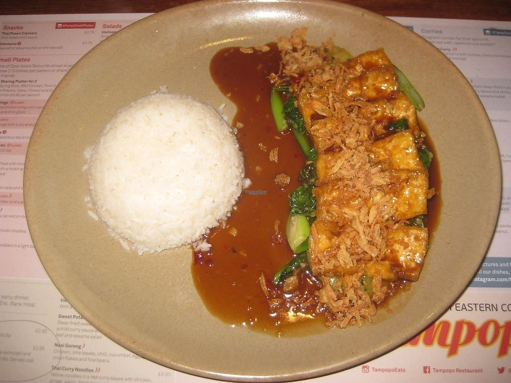 """Photo of Tampopo  by <a href=""""/members/profile/jennyc32"""">jennyc32</a> <br/>Tamarind """"duck"""" tofu (vegan) <br/> January 6, 2017  - <a href='/contact/abuse/image/73418/208619'>Report</a>"""