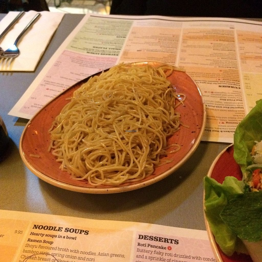 """Photo of Tampopo  by <a href=""""/members/profile/Hoggy"""">Hoggy</a> <br/>Vegan Wok-fried Hokkien noodles <br/> September 20, 2017  - <a href='/contact/abuse/image/73418/306458'>Report</a>"""