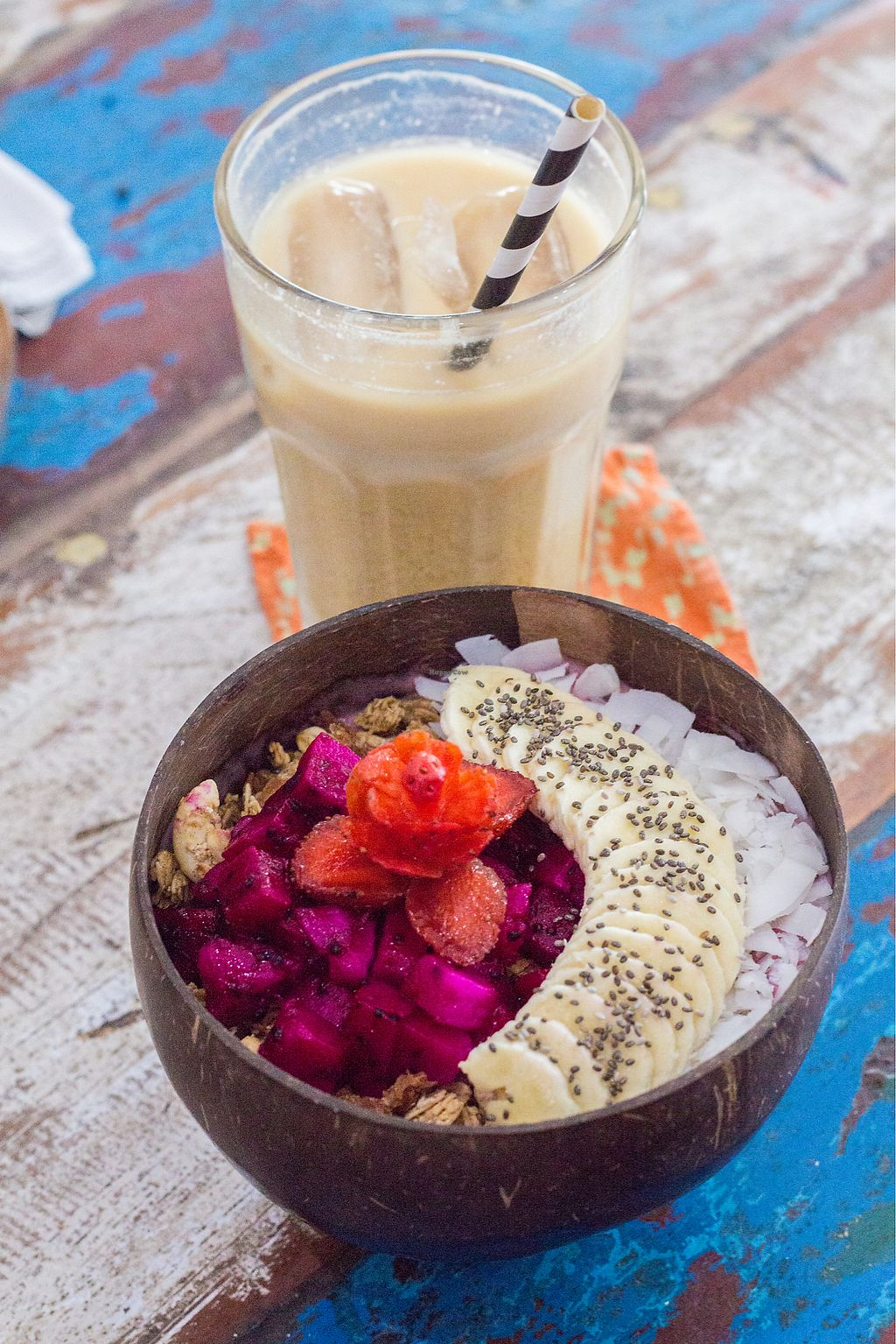 """Photo of CLOSED: The Spicy Coconut  by <a href=""""/members/profile/jessana"""">jessana</a> <br/>smoothie bowl  <br/> August 4, 2017  - <a href='/contact/abuse/image/73419/288507'>Report</a>"""