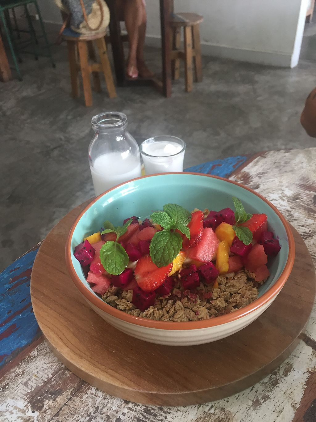 """Photo of CLOSED: The Spicy Coconut  by <a href=""""/members/profile/auroreFR"""">auroreFR</a> <br/>granola mix (wonderful with soy and coconut Milk) <br/> August 21, 2017  - <a href='/contact/abuse/image/73419/295046'>Report</a>"""
