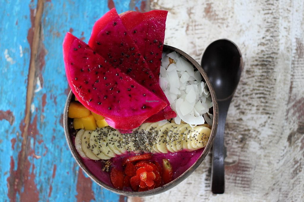"""Photo of CLOSED: The Spicy Coconut  by <a href=""""/members/profile/doamazing"""">doamazing</a> <br/>Smoothie bowl <br/> September 18, 2017  - <a href='/contact/abuse/image/73419/305688'>Report</a>"""