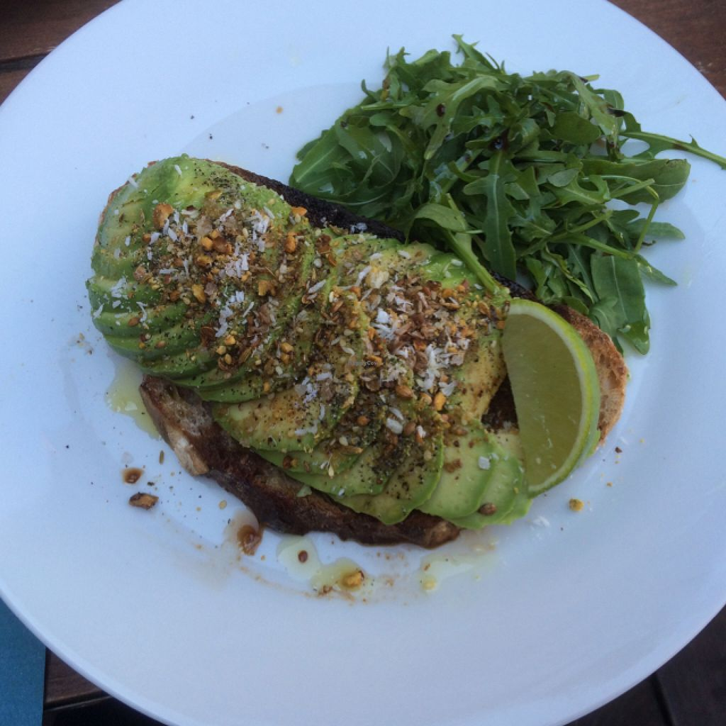 "Photo of Home Coffee  by <a href=""/members/profile/Mslanei"">Mslanei</a> <br/>weekly special - this time avocado with pistachio dukkah on toast <br/> May 15, 2016  - <a href='/contact/abuse/image/73422/149164'>Report</a>"