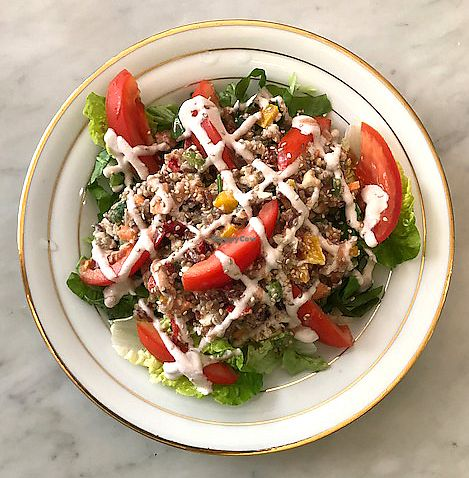 """Photo of Badaboom  by <a href=""""/members/profile/kezia"""">kezia</a> <br/>Salad option for lunch <br/> October 19, 2017  - <a href='/contact/abuse/image/73436/316673'>Report</a>"""