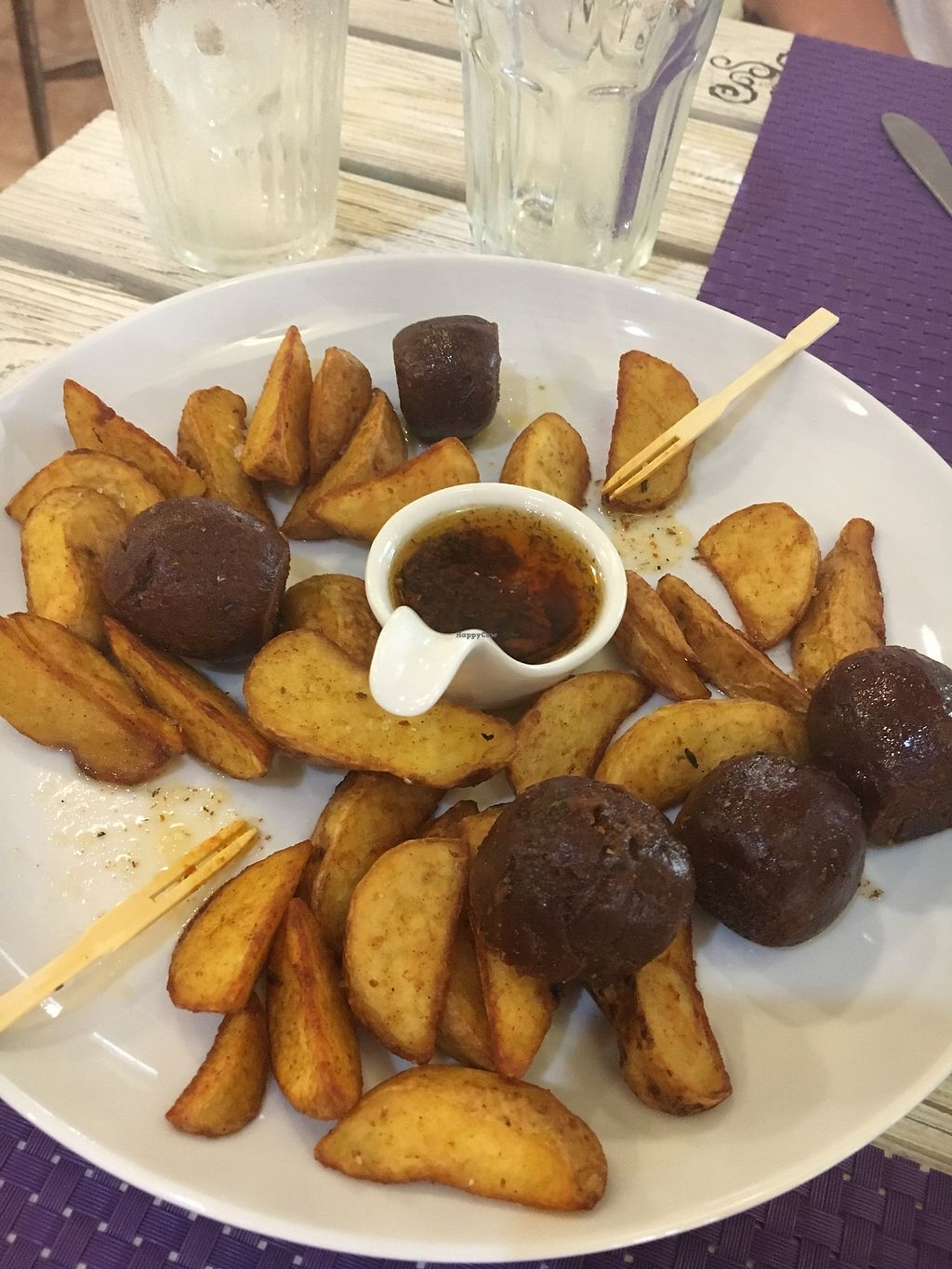 """Photo of Acai  by <a href=""""/members/profile/JasmineB%C3%B6rlin"""">JasmineBörlin</a> <br/>Some sort of typical spanish """"sausage"""" made of seitan <br/> August 23, 2017  - <a href='/contact/abuse/image/73437/296482'>Report</a>"""