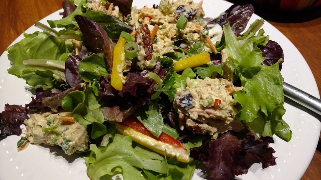 """Photo of CLOSED: The Club Cafe  by <a href=""""/members/profile/piglet"""">piglet</a> <br/>Market Salads $7 and I love that her menu changes weekly.  <br/> May 20, 2016  - <a href='/contact/abuse/image/73474/149921'>Report</a>"""