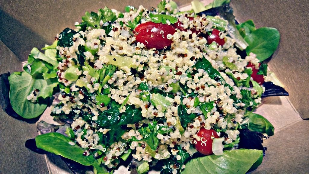 """Photo of CLOSED: The Club Cafe  by <a href=""""/members/profile/piglet"""">piglet</a> <br/>yummy salads - good portions.  <br/> May 20, 2016  - <a href='/contact/abuse/image/73474/149923'>Report</a>"""