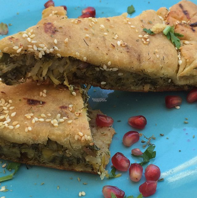 """Photo of Yard of Taste  by <a href=""""/members/profile/jjpink34"""">jjpink34</a> <br/>spinach pie. gorgeous!  <br/> September 4, 2016  - <a href='/contact/abuse/image/73484/173633'>Report</a>"""