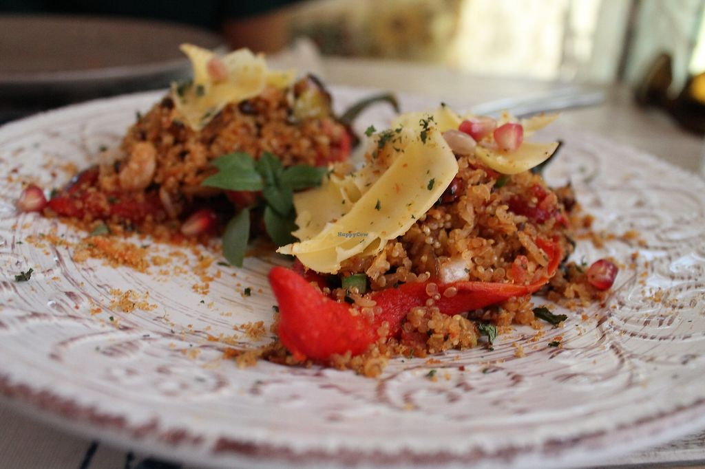 """Photo of Yard of Taste  by <a href=""""/members/profile/Healthybackpackers"""">Healthybackpackers</a> <br/>stuffed peppers <br/> July 12, 2017  - <a href='/contact/abuse/image/73484/279568'>Report</a>"""