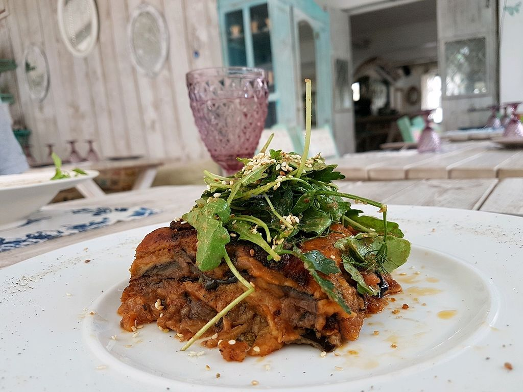 """Photo of Yard of Taste  by <a href=""""/members/profile/vegan_healthy_woman"""">vegan_healthy_woman</a> <br/>Moussaka  <br/> November 7, 2017  - <a href='/contact/abuse/image/73484/322941'>Report</a>"""