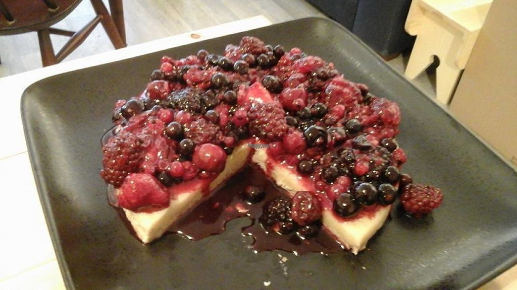 "Photo of Jenny's  by <a href=""/members/profile/Meaks"">Meaks</a> <br/>Summer fruit vegan gluten free cheesecake  <br/> August 2, 2016  - <a href='/contact/abuse/image/73495/164562'>Report</a>"