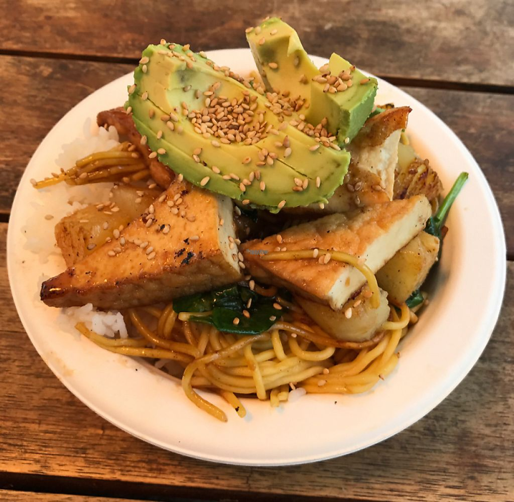 """Photo of Namu Food Truck  by <a href=""""/members/profile/lindseymiller"""">lindseymiller</a> <br/>Aloha Bowl (vegan) <br/> January 27, 2017  - <a href='/contact/abuse/image/73506/221091'>Report</a>"""