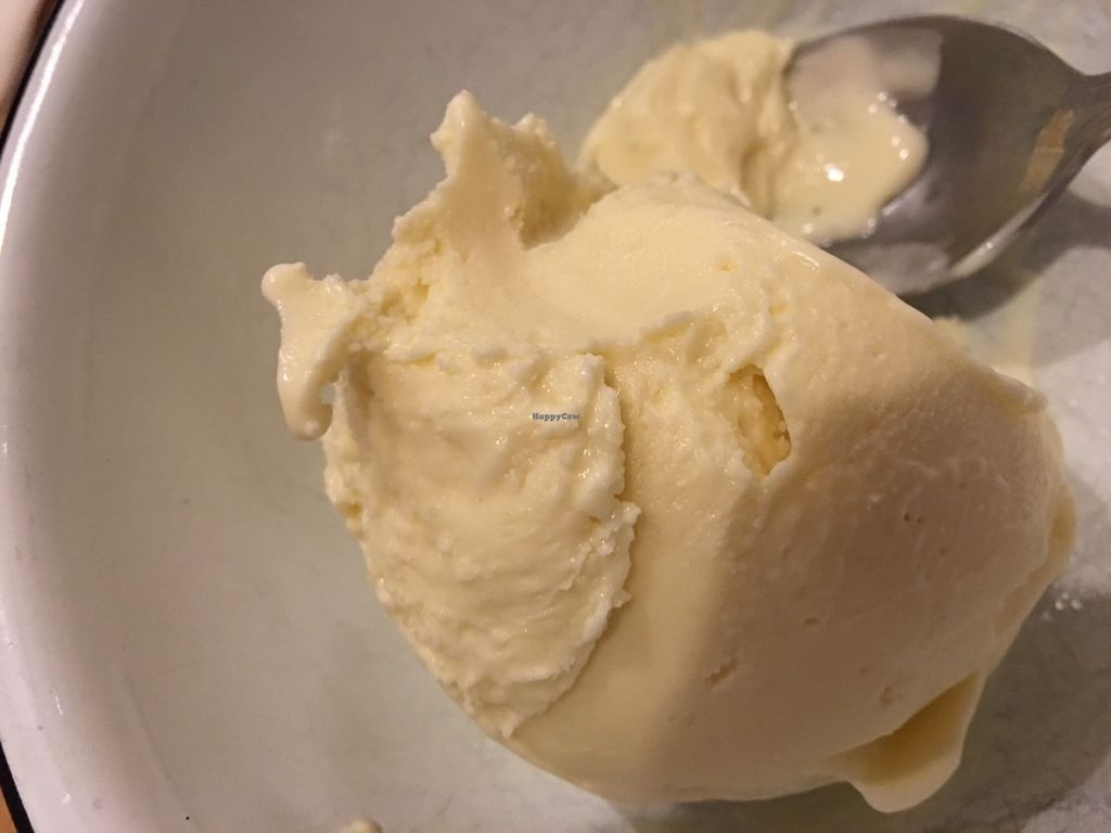 "Photo of Fifty Licks  by <a href=""/members/profile/Arthousebill"">Arthousebill</a> <br/>Saffron lemon coconut vegan ice cream <br/> June 18, 2016  - <a href='/contact/abuse/image/73522/154560'>Report</a>"