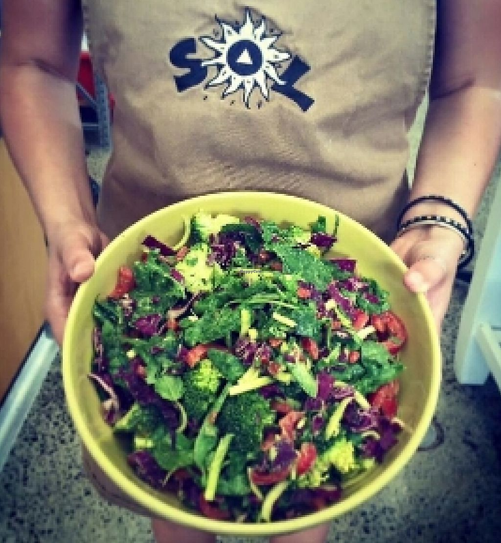 """Photo of Sol Natural Foods - Darra  by <a href=""""/members/profile/chelseyreid"""">chelseyreid</a> <br/>salad <br/> May 10, 2016  - <a href='/contact/abuse/image/73523/252391'>Report</a>"""