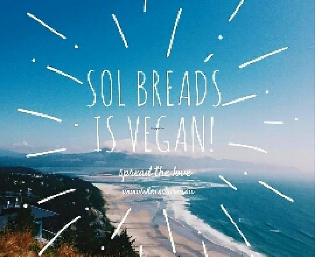 """Photo of Sol Natural Foods - Darra  by <a href=""""/members/profile/chelseyreid"""">chelseyreid</a> <br/>vegan bread <br/> May 10, 2016  - <a href='/contact/abuse/image/73523/252392'>Report</a>"""