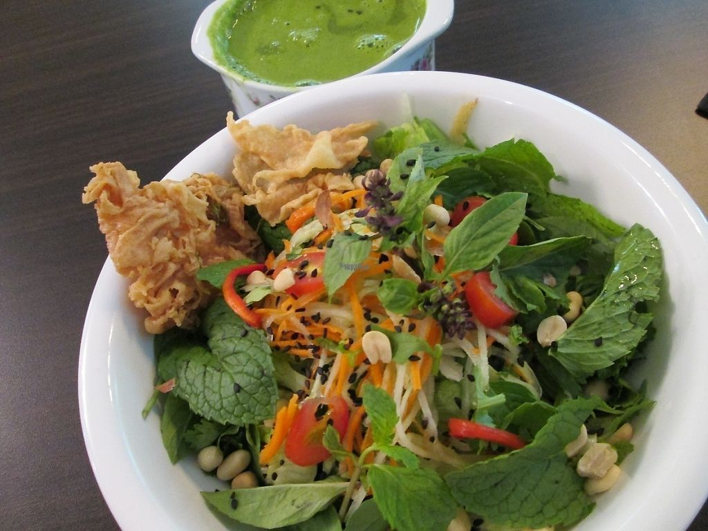 """Photo of CLOSED: Veggie Cafe   by <a href=""""/members/profile/Fruity%20Suzanne"""">Fruity Suzanne</a> <br/>The best Hakka Lei Cha in Penang <br/> February 13, 2017  - <a href='/contact/abuse/image/73537/226146'>Report</a>"""