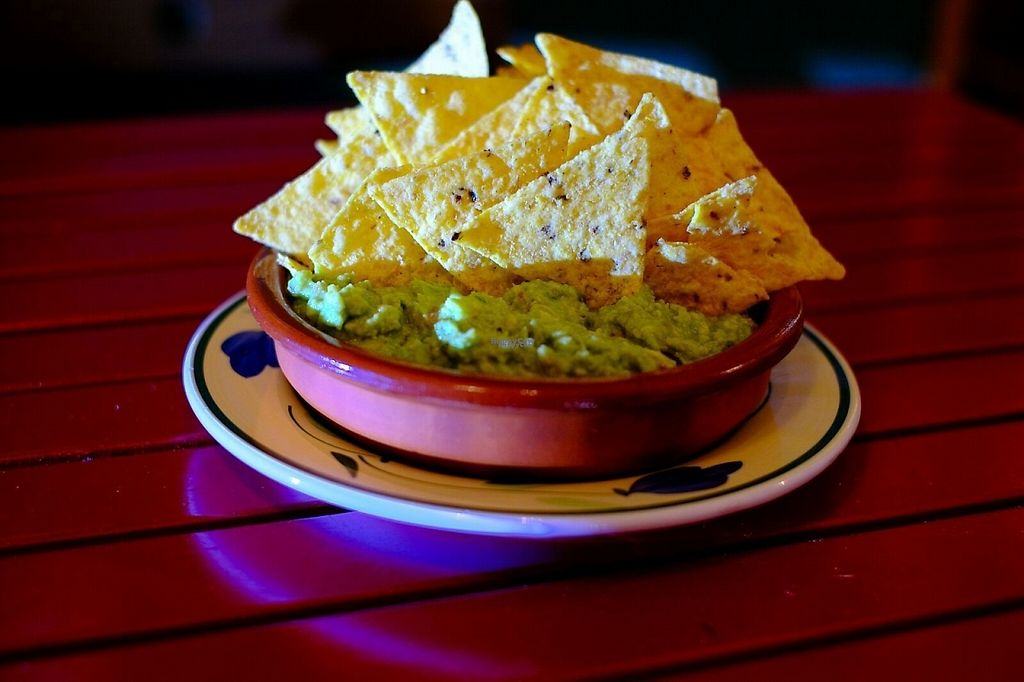 """Photo of Green Iguana Bar  by <a href=""""/members/profile/greeniguanabar"""">greeniguanabar</a> <br/>Nachos guacamole <br/> December 2, 2016  - <a href='/contact/abuse/image/73541/196779'>Report</a>"""